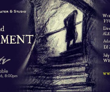 Crime and Punishment – Theatre Production