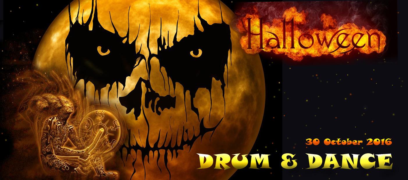 Drum and Dance Halloween Party - Jamair.TV