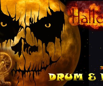 Drum and Dance Halloween