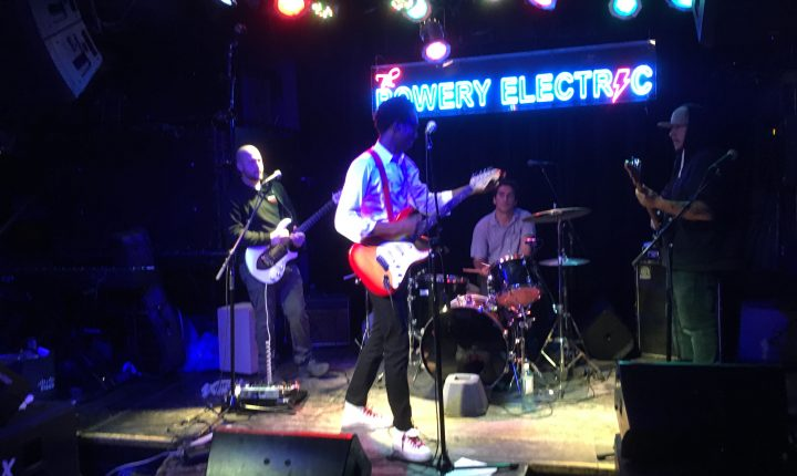 Chase Winters at Bowery Electric