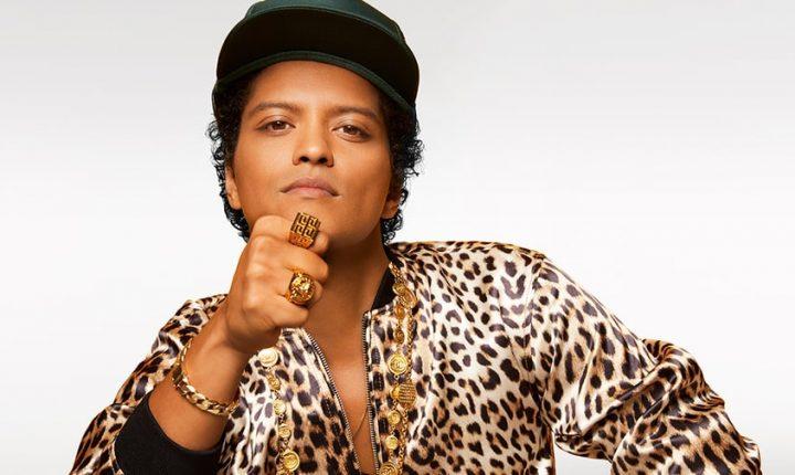 Bruno Mars Reveals New '24K Magic' Tour North American Dates