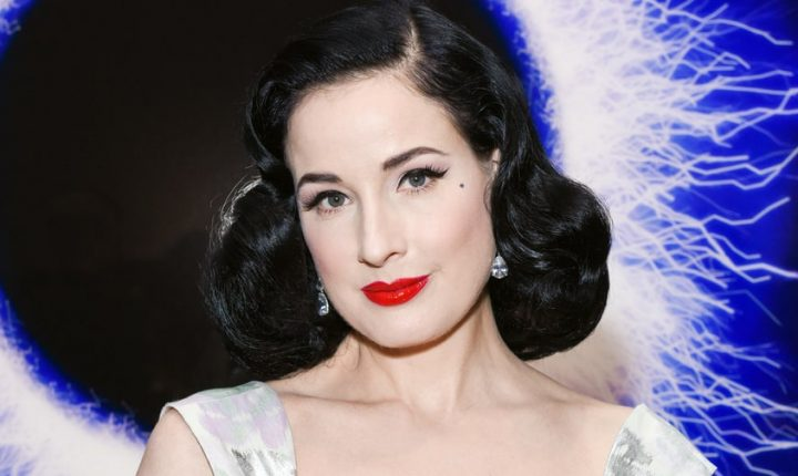 Dita Von Teese Gets Seductive on New Duet 'Porcelaine'