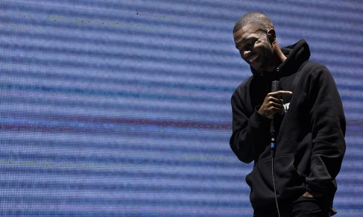 Hear Frank Ocean's Serene Cover of 'Moon River'