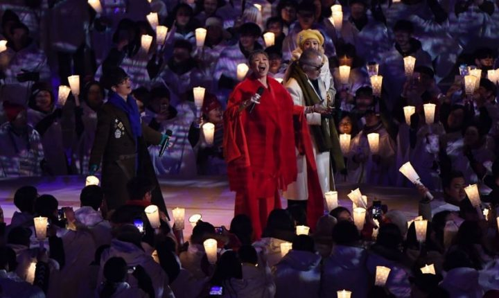 2018 Winter Olympics: Watch Singers Cover John Lennon's 'Imagine' at Opening Ceremony
