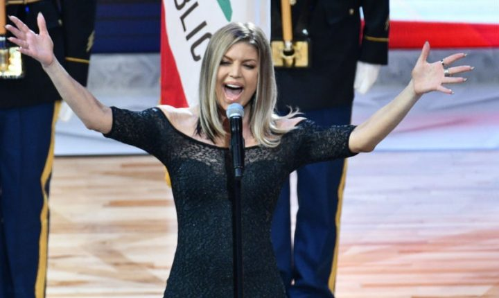 Watch Fergie's Disastrous National Anthem at NBA All-Star Game