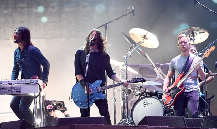 See Foo Fighters Perform 'The Sky Is a Neighborhood' at Brit Awards