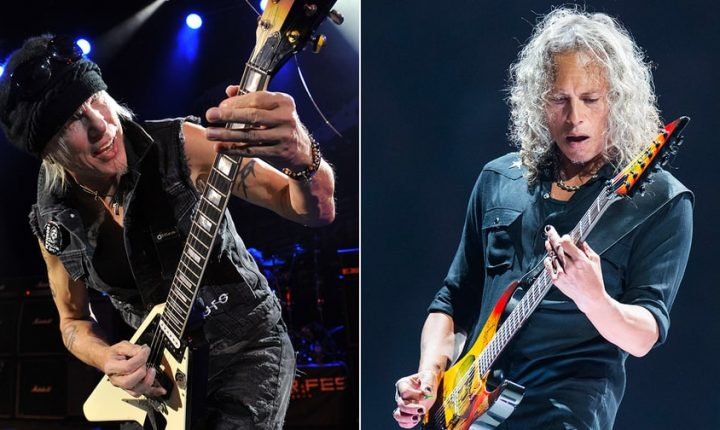 Hear Metallica's Kirk Hammett Play Ripping Solo on New Michael Schenker Song
