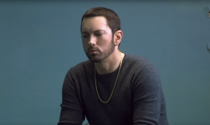 Eminem Chronicles Bleak Love Triangle in 'River' Video With Ed Sheeran