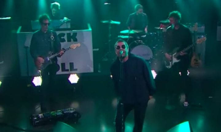 See Liam Gallagher Sing Yoko Ono-Inspired 'I've All I Need' on 'Corden'