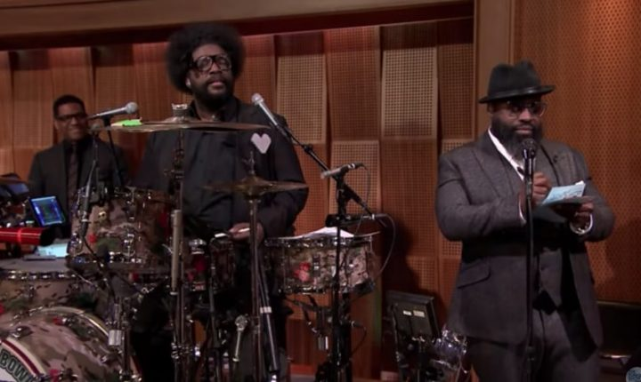 Watch the Roots' Black Thought Freestyle About Bruce Willis on 'Fallon'