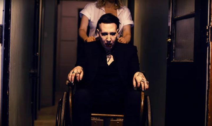 See Marilyn Manson's Disturbing Video With Courtney Love, Lisa Marie Presley