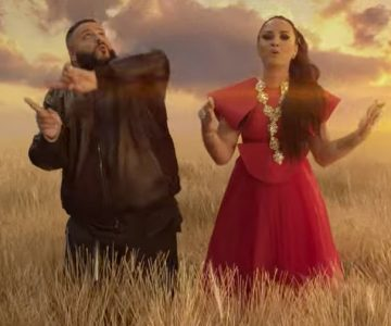 See Demi Lovato, DJ Khaled Frolic in New 'I Believe' Video
