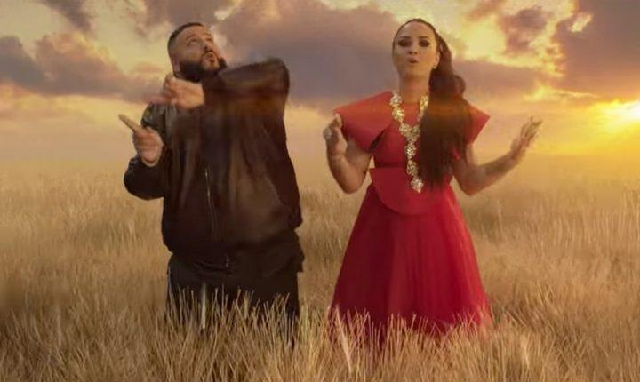 See Demi Lovato, DJ Khaled Frolic in New 'I Believe' Video
