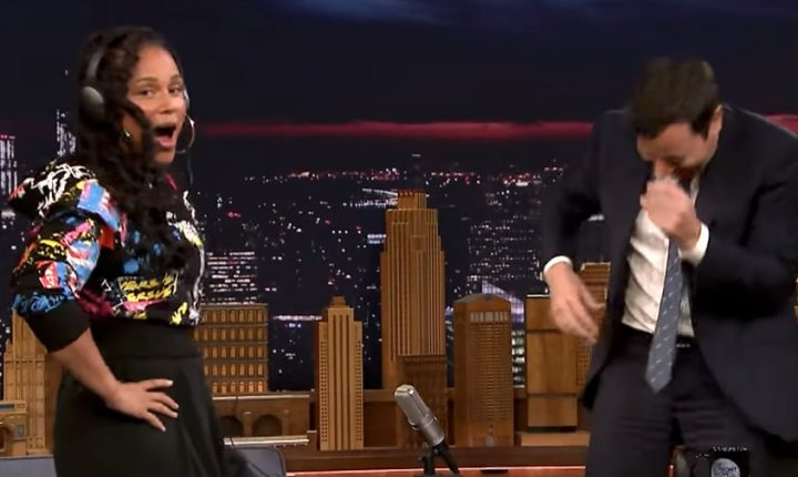 Watch Alicia Keys, Jimmy Fallon Sing Shakira, DMX in 'Whisper Challenge'