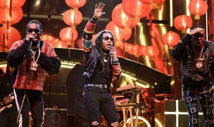 Watch Migos Deliver 'Stir Fry,' 'Narcos' on 'SNL'