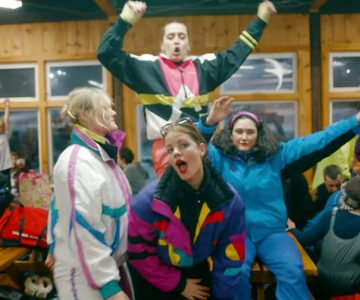 Watch Hinds Stage Ski Resort Takeover in 'The Club' Video