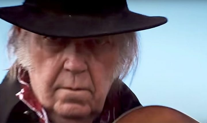 See Neil Young Play Ominous 'Man in Black Hat' in 'Paradox' Trailer