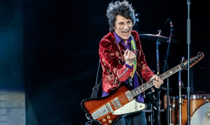 Ronnie Wood 'All Clear' After Lung Cancer Scare