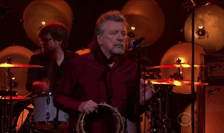 Watch Robert Plant Perform Hushed Rendition of 'New World' on 'Corden'