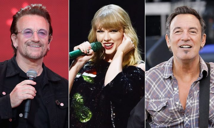 U2, Taylor Swift, Bruce Springsteen Prep Record Store Day Releases