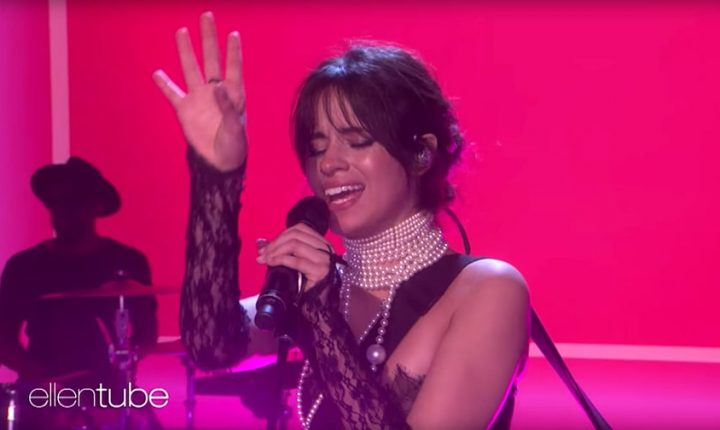 Watch Camila Cabello Wield Electric Guitar in 'Never Be the Same' on 'Ellen'