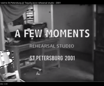 """Interzona"" band visit to St.Petersburg @ TequilaJazzz rehearsal studio – 2001"