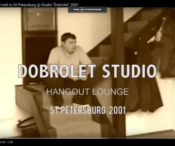 """Interzona"" band visit to St.Petersburg @ Studio ""Dobrolet"" 2001"