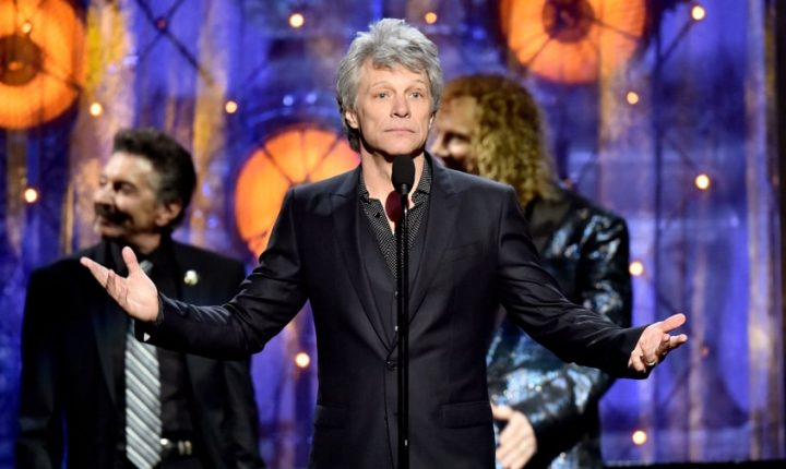Read Bon Jovi's Career-Defining Rock and Roll Hall of Fame Induction Speeches