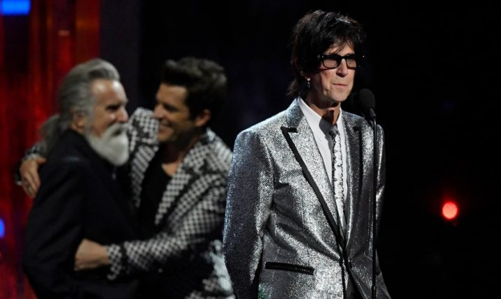 Read the Cars' Grateful Rock and Roll Hall of Fame Induction Speeches