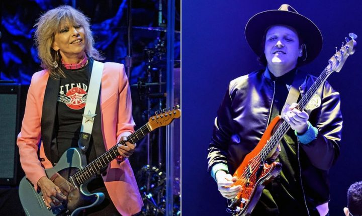 Watch Arcade Fire, Chrissie Hynde Cover the Pretenders