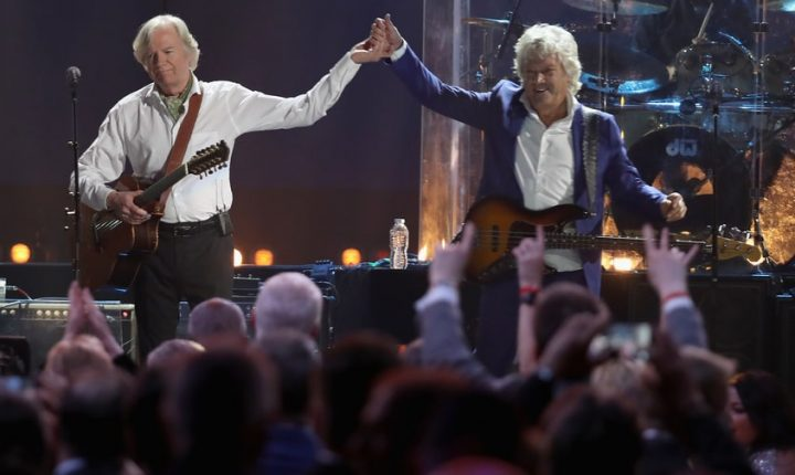 Read Moody Blues' Thankful Rock and Roll Hall of Fame Induction Speeches