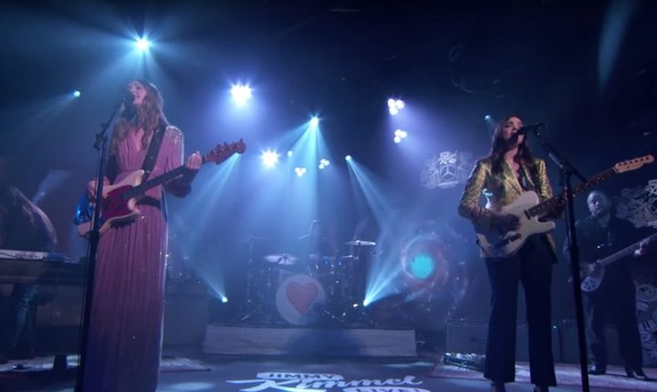First Aid Kit Bring Angelic Harmonies to 'Kimmel' With New Song, 'Fireworks'