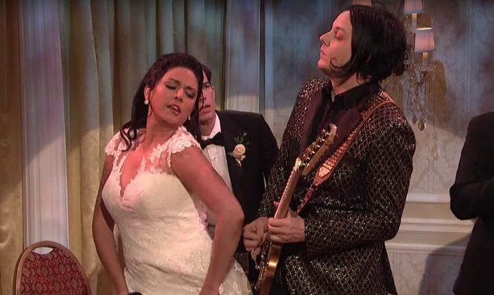 Watch Jack White Play Wedding Band Guitarist in 'SNL' Sketch