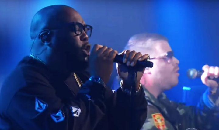 Watch Run the Jewels Perform 'Thursday in the Danger Room' on 'Colbert'