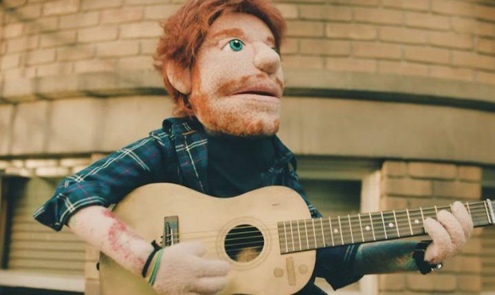 Watch Ed Sheeran Get His Heart Broken in Puppet Form