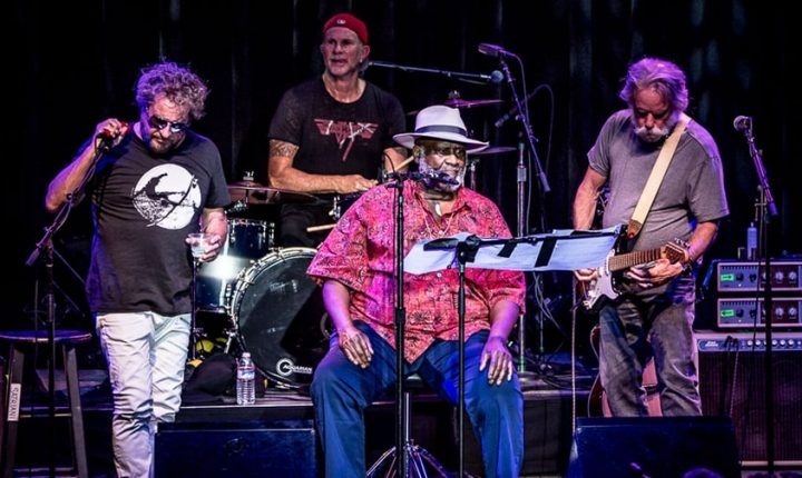 Watch Sammy Hagar, Bob Weir, Taj Mahal, Chad Smith Play Otis Redding Classic