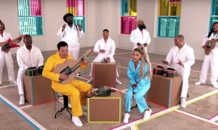 See Ariana Grande, the Roots Perform With Nintendo Labo Instruments