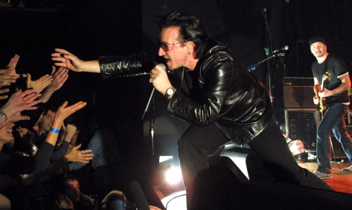 Flashback: U2 Cover the Who at Intimate NYC Gig in 2000