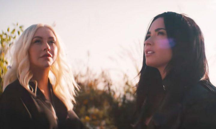 Watch Christina Aguilera, Demi Lovato's Liberating 'Fall in Line' Video