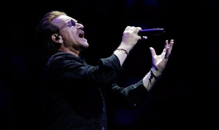 U2 Detail Intimate Apollo Theater Concert