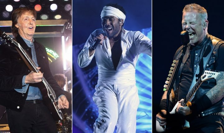 Paul McCartney, Metallica, Childish Gambino Top ACL Fest Lineup