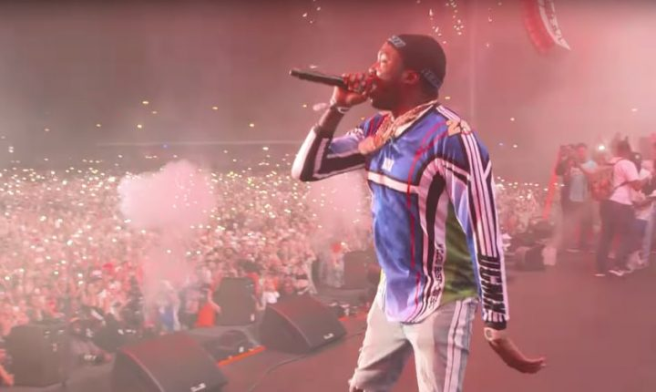 Watch Meek Mill's Surprise, First Post-Jail Concert at Rolling Loud