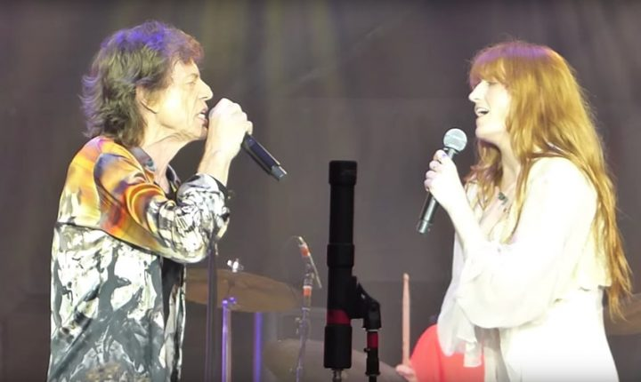 Watch Rolling Stones Perform 'Wild Horses' With Florence Welch in London