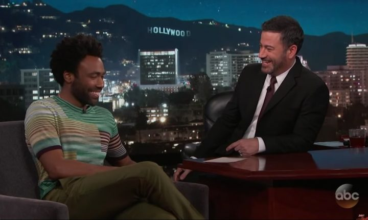 Watch Donald Glover Talk Controversial 'This Is America' Video on 'Kimmel'