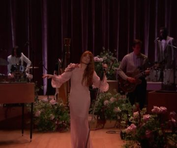 Watch Florence and the Machine Belt New Song 'Hunger' on 'Fallon'