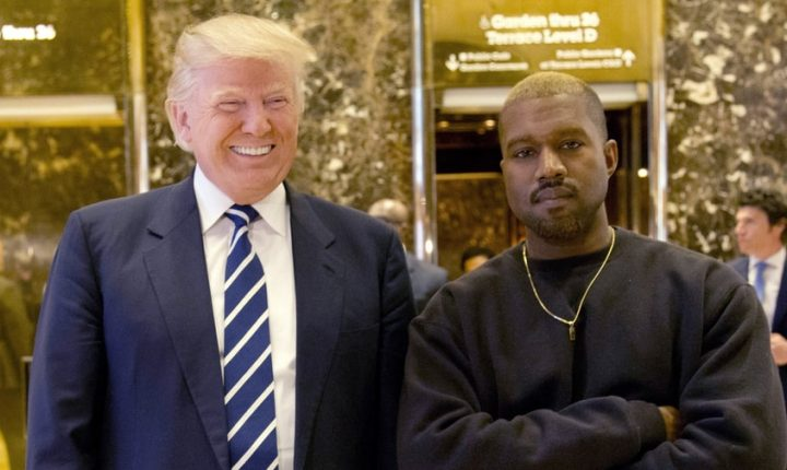 Donald Trump Thanks Kanye West for Boost in Approval Rating