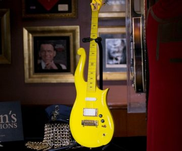 Prince's Yellow Cloud Guitar Sells for $225,000 at New York Auction