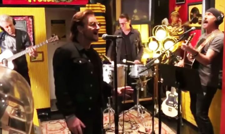 U2 Brings 'Love is Bigger Than Anything in its Way' to Third Man Records