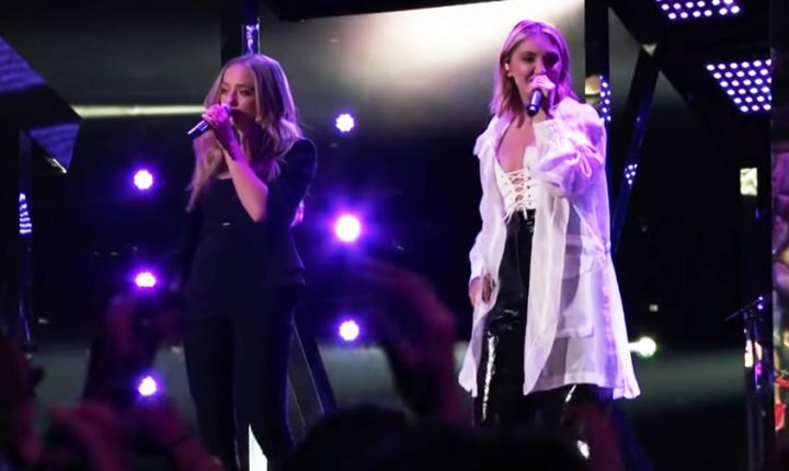 Watch Julia Michaels Join 'Voice' Winner Brynn Cartelli During Onstage Finale