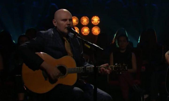 Watch Billy Corgan Perform Intimate 'Archer' on 'Corden'